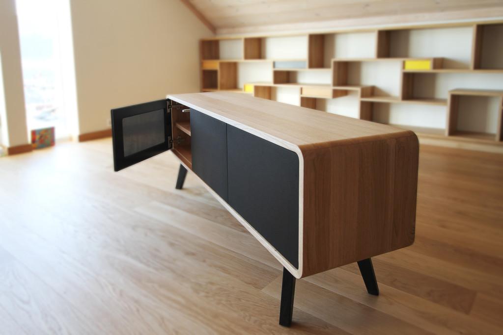 Kjempebra retro-benk - Austvoll Tre & Design JL-05